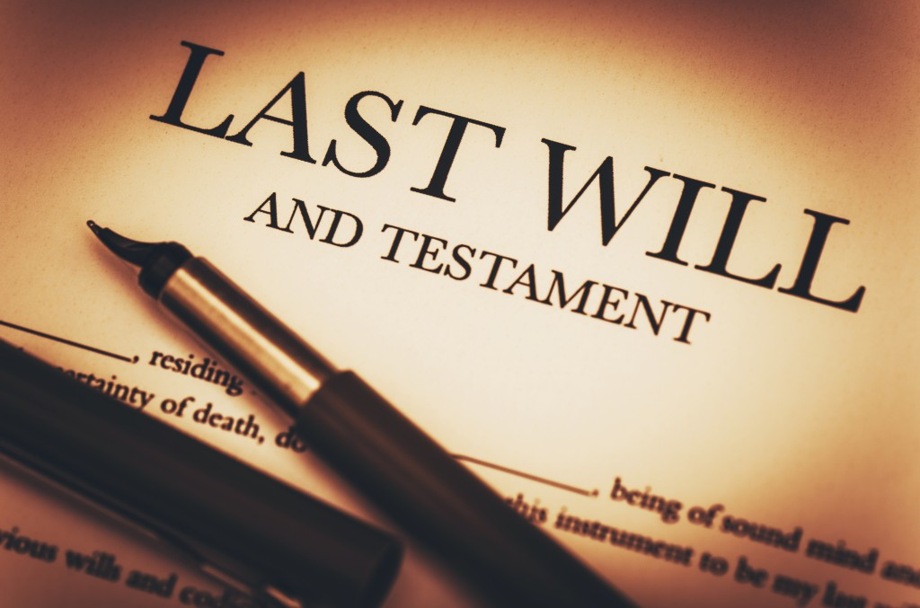 Is a copy of a will sufficient?